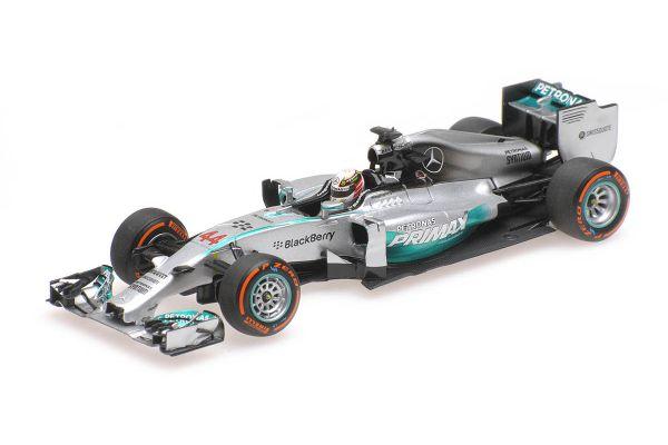MINICHAMPS 1/43scale MERCEDES AMG PETRONAS F1 TEAM – F1 W05 – LEWIS HAMILTON – WINNER MALAYSIAN GP 2014  [No.410140144]