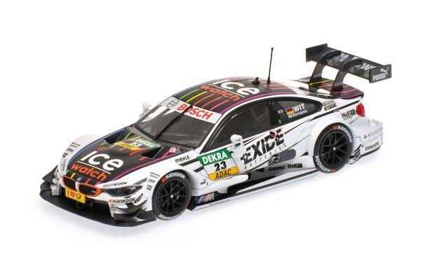 MINICHAMPS 1/43scale BMW M4 (F82) – BMW TEAM RMG – MARCO WITTMANN – DTM 2014  [No.410142423]