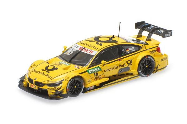 MINICHAMPS 1/43scale BMW M4 (F82) – BMW TEAM MTEK – TIMO GLOCK – DTM 2015  [No.410152416]