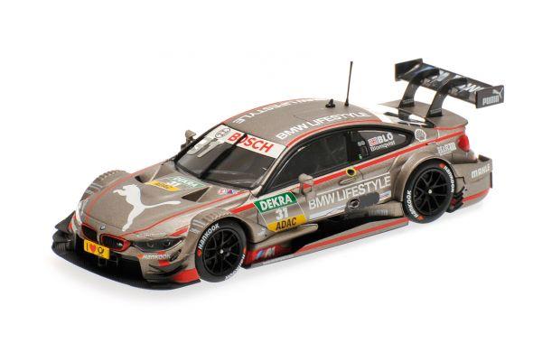 MINICHAMPS 1/43scale BMW M4 (F82) – BMW TEAM RBM – TOM BLOMQVIST – DTM 2015  [No.410152431]