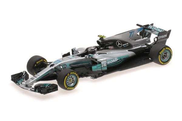 MINICHAMPS 1/43scale MERCEDES AMG PETRONAS FORMULA ONE TEAM F1 W08 EQ POWER+ – VALTTERI BOTTAS – SPANISH GP 2017  [No.410170077]