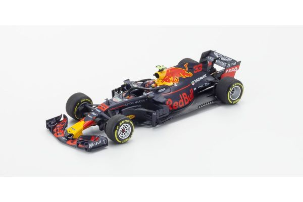 MINICHAMPS 1/43scale ASTON MARTIN RED BULL RACING TAG-HEUER RB14 – MAX VERSTAPPEN – 2018  [No.410180033]