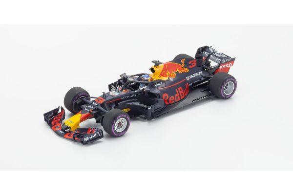 MINICHAMPS 1/43scale ASTON MARTIN RED BULL RACING TAG-HEUER RB14 – DANIEL RICCIARDO – WINNER MONACO GP 2018  [No.410180603]