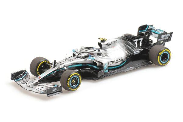 MINICHAMPS 1/43scale MERCEDES-AMG PETRONAS MOTORSPORT F1 W10 EQ POWER – VALTTERI BOTTAS – 2019  [No.410190077]