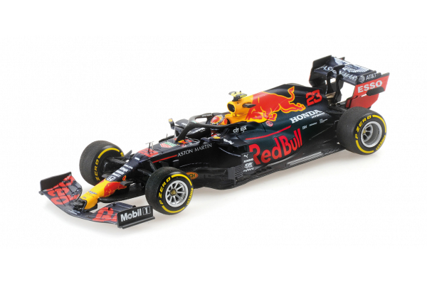 MINICHAMPS 1/43scale Aston Martin Red Bull Racing RB16 Alexander Albon Styrian Grand Prix GP 2020 4th place  [No.410200223]