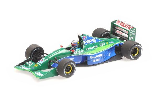MINICHAMPS 1/43scale JORDAN FORD 191 – ALESSANDRO ZANARDI – JAPANESE GP 1991  [No.410910332]