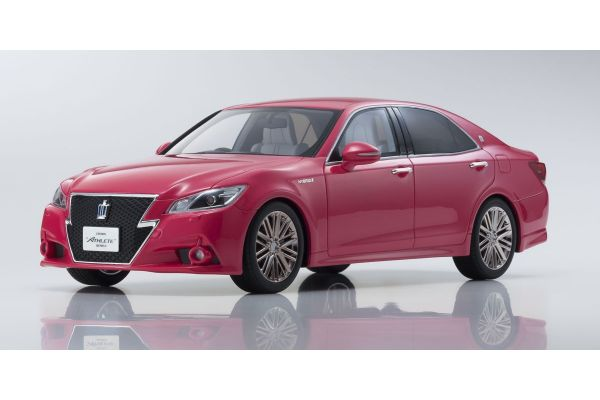 SAMURAI 1/18scale Toyota CROWN Hybrid Athlete G Pink [No.KSR18001PI]