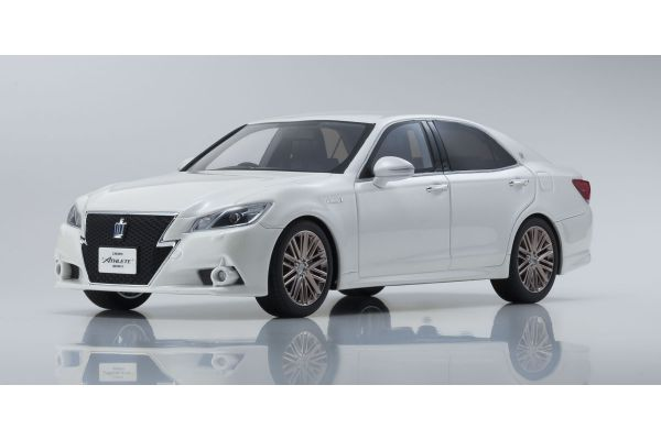 SAMURAI 1/18scale Toyota CROWN Hybrid Athlete G White [No.KSR18001W]