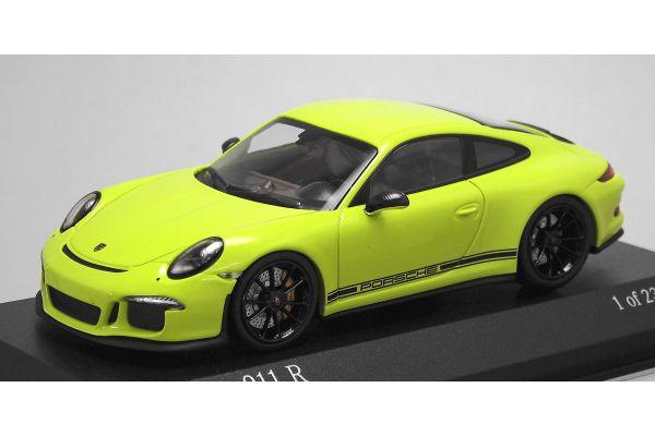 ALMOST REAL 1/43scale Porsche 911R 991 2016 Light Green  [No.413066267]