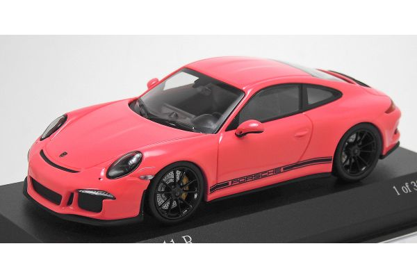 ALMOST REAL 1/43scale Porsche 911R 991 2016 Pink  [No.413066269]
