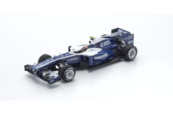 MINICHAMPS 1/43scale AT&T WILLIAMS COSWORTH FW32 – NICO HÜLKENBERG – 2010  [No.417100010]