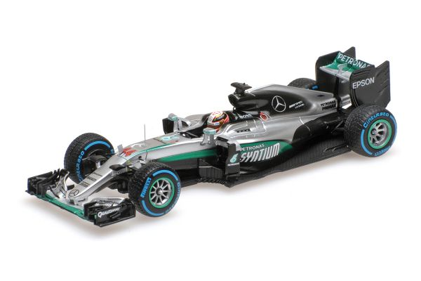 MINICHAMPS 1/43scale MERCEDES AMG PETRONAS F1 TEAM – F1 W07 HYBRID – HAMILTON – WINNER BRAZILIAN GP 2016  [No.417160644]