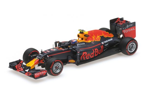 MINICHAMPS 1/43scale RED BULL RACING TAG HEUER RB12 – MAX VERSTAPPEN – 3RD PLACE GERMAN GP 2016  [No.417160833]