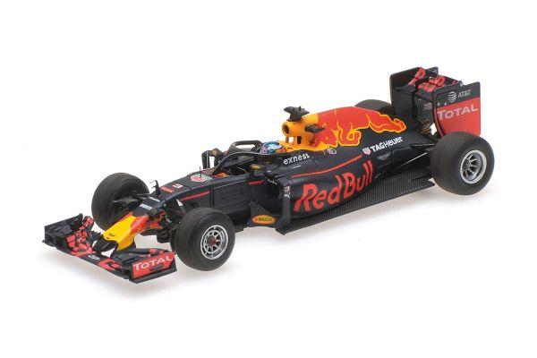 MINICHAMPS 1/43scale RED BULL RACING TAG HEUER RB12 – DANIEL RICCIARDO – HALO TEST BELGIAN GP 2016  [No.417160903]
