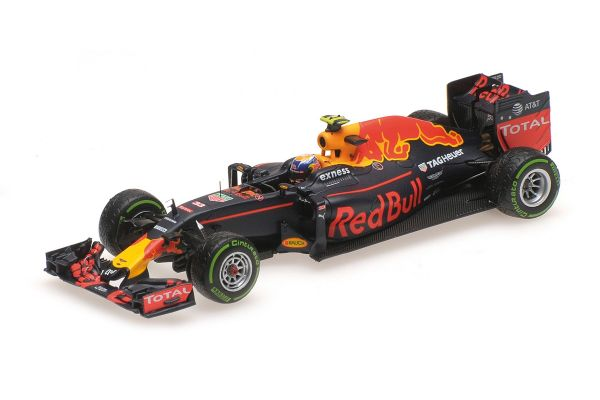 MINICHAMPS 1/43scale RED BULL RACING TAG HEUER RB12 – MAX VERSTAPPEN – 3RD PLACE BRAZILIAN GP 2016  [No.417161233]