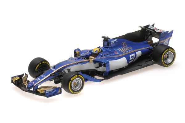 MINICHAMPS 1/43scale SAUBER F1 TEAM FERRARI C36 – MARCUS ERICSSON – CHINESE GP 2017  [No.417170009]