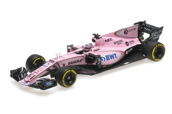 MINICHAMPS 1/43scale SAHARA FORCE INDIA F1 TEAM MERCEDES VJM10 – SERGIO PÉREZ – AUSTRALIAN GP 2017  [No.417170011]