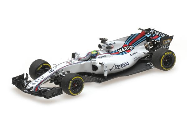 MINICHAMPS 1/43scale WILLIAMS MARTINI RACING MERCEDES FW40 – FELIPE MASSA – 2017  [No.417170019]