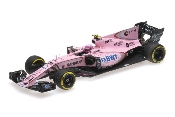 MINICHAMPS 1/43scale SAHARA FORCE INDIA F1 TEAM MERCEDES VJM10 – ESTEBAN OCON – AUSTRALIAN GP 2017  [No.417170031]