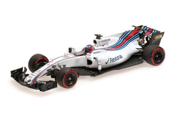 MINICHAMPS 1/43scale WILLIAMS MARTINI RACING MERCEDES FW40 – GARY PAFFETT – TEST F1 BAHRAIN 2017  [No.417170041]