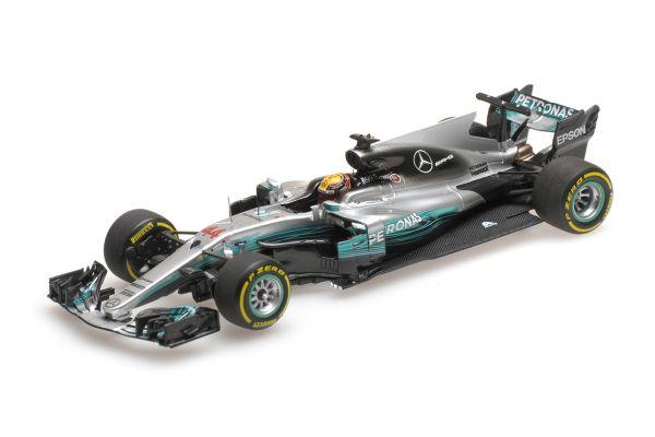 MINICHAMPS 1/43scale MERCEDES AMG PETRONAS FORMULA ONE TEAM F1 W08 EQ POWER+ – LEWIS HAMILTON – WINNER CHINESE GP 2017  [No.417170244]