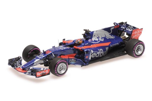 MINICHAMPS 1/43scale SCUDERIA TORO ROSSO RENAULT STR12 – BRENDON HARTLEY – MEXICAN GP 2017  [No.417171828]