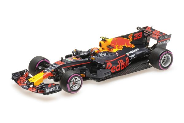 MINICHAMPS 1/43scale RED BULL RACING TAG-HEUER RB13 – MAX VERSTAPPEN – WINNER MEXICAN GP 2017  [No.417171833]