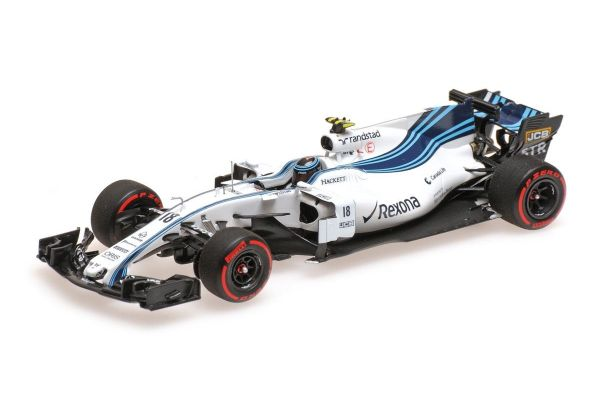 MINICHAMPS 1/43scale WILLIAMS MARTINI RACING MERCEDES FW40 – LANCE STROLL – ABU DHABI GP 2017  [No.417172018]