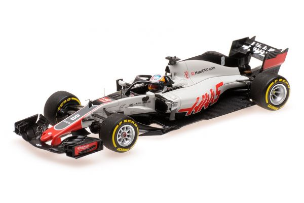 MINICHAMPS 1/43scale HAAS F1 TEAM – ROMAIN GROSJEAN – SHOWCAR 2018  [No.417189008]