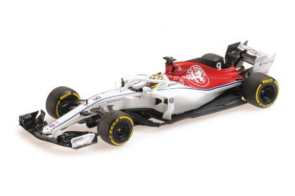MINICHAMPS 1/43scale ALFA ROMEO SAUBER F1 TEAM – MARCUS ERICSSON – SHOWCAR 2018  [No.417189009]