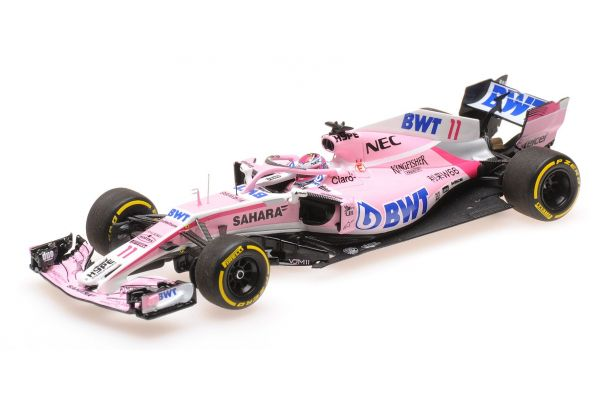 MINICHAMPS 1/43scale SAHARA FORCE INDIA F1 TEAM – SERGIO PÉREZ – SHOWCAR 2018  [No.417189011]