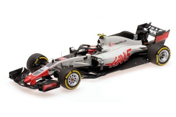 MINICHAMPS 1/43scale HAAS F1 TEAM – KEVIN MAGNUSSEN – SHOWCAR 2018  [No.417189020]