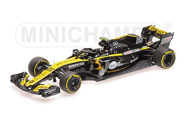 MINICHAMPS 1/43scale RENAULT SPORT FORMULA ONE TEAM – CARLOS SAINZ JR. – SHOWCAR 2018  [No.417189055]