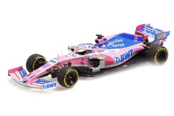 MINICHAMPS 1/43scale Sport Pesa Racing Point F1 Team Mercedes RP19 Sergio Perez 2019  [No.417190011]