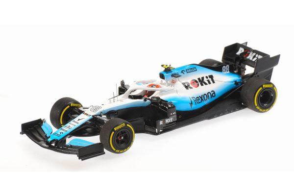 MINICHAMPS 1/43scale Rokit Williams Racing Mercedes FW42 Robert Kubica 2019  [No.417190088]