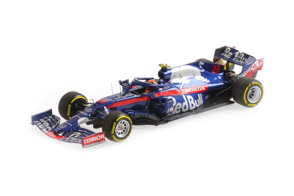 MINICHAMPS 1/43scale Scuderia Toro Rosso Honda STR14 Alexander Albon Monaco GP 2019  [No.417190623]