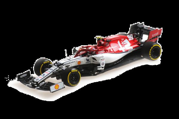 MINICHAMPS 1/43scale Alfa Romeo Racing C38 Antonio Giovinazzi Monaco GP 2019  [No.417190699]
