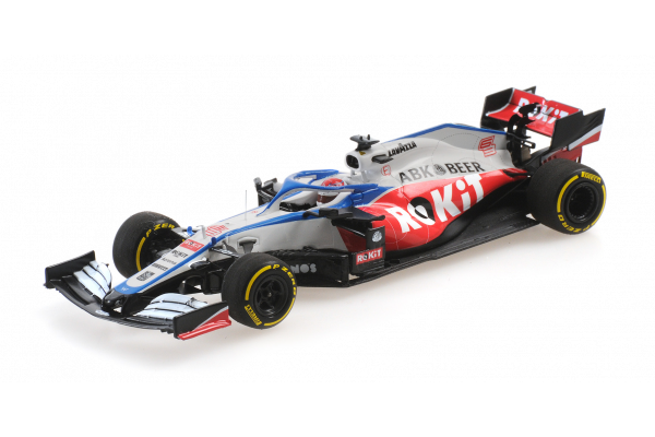 MINICHAMPS 1/43scale Rokit Williams Racing Mercedes FW43 George Russell 2020 LAUNCH SPEC  [No.417200063]