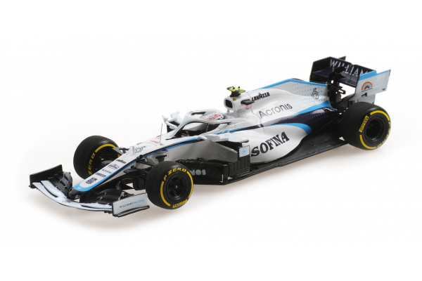 MINICHAMPS 1/43scale Williams Racing FW43 Nicholas Latifi Austria GP 2020  [No.417200106]