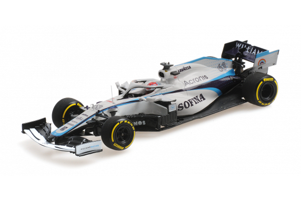 MINICHAMPS 1/43scale Williams Racing FW43 George Russell Austrian GP 2020  [No.417200163]