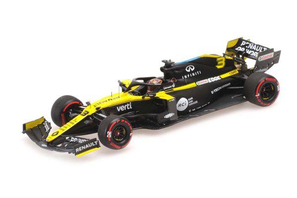 MINICHAMPS 1/43scale Renault DP World F1 Team R.S.20 Daniel Ricciardo Eifel GP 2020 3rd Place  [No.417200903]