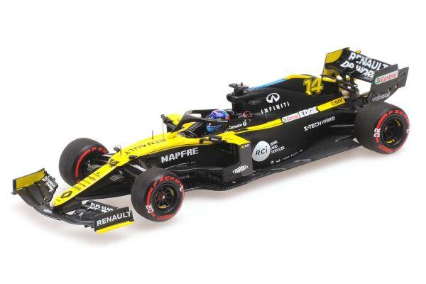 MINICHAMPS 1/43scale Renault DP World F1 Team R.S.20 Fernando Alonso Barcelona Test 2020  [No.417209914]