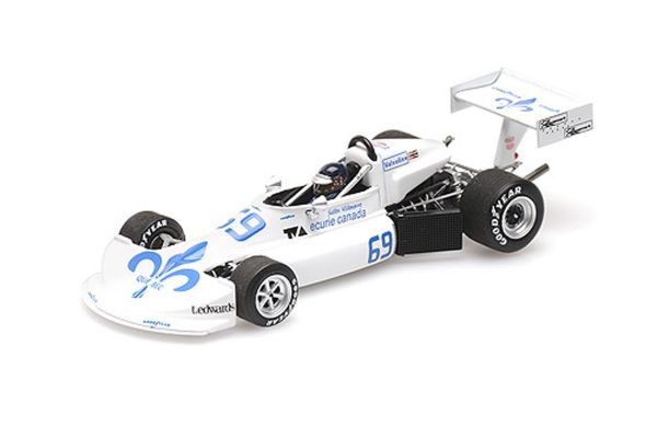 MINICHAMPS 1/43scale MARCH FORD 76B COSWORTH – GILLES VILLENEUVE – FORMULA ATLANTIC WINNER ATLANTIC MOTORSPORT PARK 1976  [No.417762169]