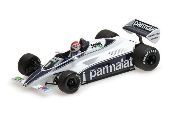 MINICHAMPS 1/43scale BRABHAM BMW BT50 – NELSON PIQUET – 1982  [No.417820001]