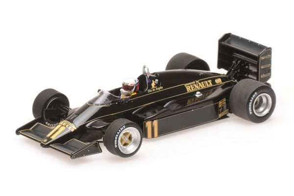 MINICHAMPS 1/43scale LOTUS RENAULT 94T – ELIO DE ANGELIS – 1983  [No.417830011]