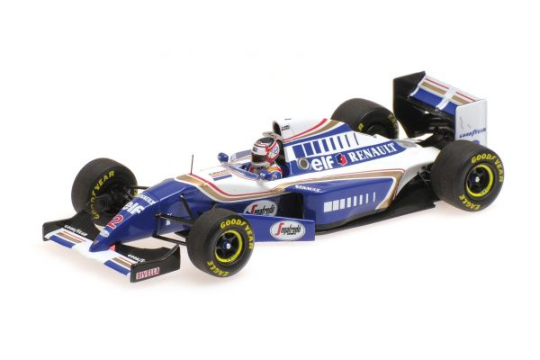 MINICHAMPS 1/43scale WILLIAMS RENAULT FW16 – NIGEL MANSELL – F1 COMEBACK – FRENCH GP 1994  [No.417940702]