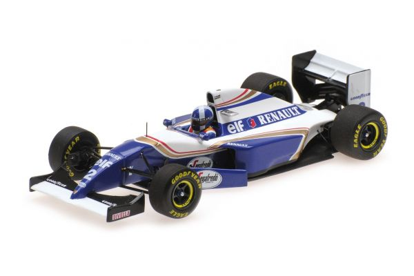 MINICHAMPS 1/43scale WILLIAMS RENAULT FW16 – DAVID COULTHARD – GP DEBUT – SPANISH GP 1994  [No.417940802]