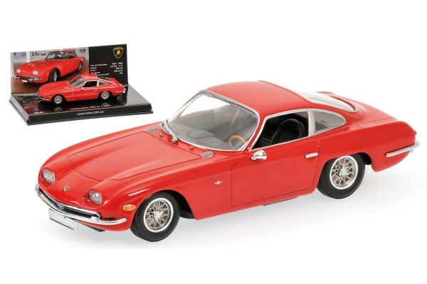 MINICHAMPS 1/43scale LAMBORGHINI 350 GT – 1964 – RED – MUSEUM SERIES [No.436103200]