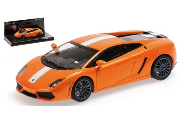 MINICHAMPS 1/43scale LAMBORGHINI GALLARDO LP 550-2 – 2009 – ORANGE – VALENTINO BALBONI  [No.436103802]