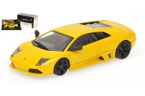 MINICHAMPS 1/43scale LAMBORGHINI MURCIELAGO LP 640 – 2006 – YELLOW – MUSEUM SERIES [No.436103920]